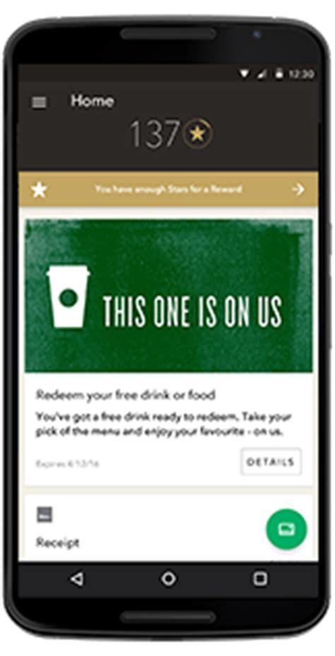 starbucks app android starbucks card mobile app starbucks coffee company