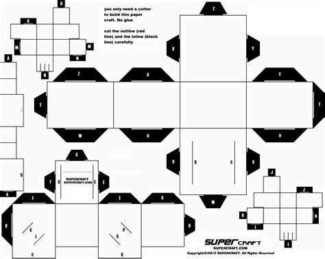 Free Papercraft - 7 best images of printable paper model templates free