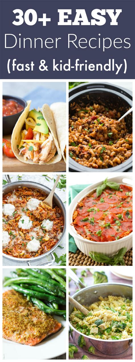 30 easy dinner recipes for your busiest days kristine s kitchen