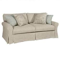 slip covered sofas slipcovered sofa boothbay daniel
