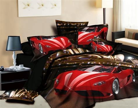 Car Bed Sets Popular Race Car Bedding Sets Buy Cheap Race Car Bedding Sets Lots From China Race Car Bedding