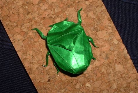 Origami Bug - origami insects 1 gilad s origami page