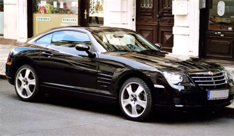 chrysler crossover auto car zone idea chrysler crossfire full edition pictures
