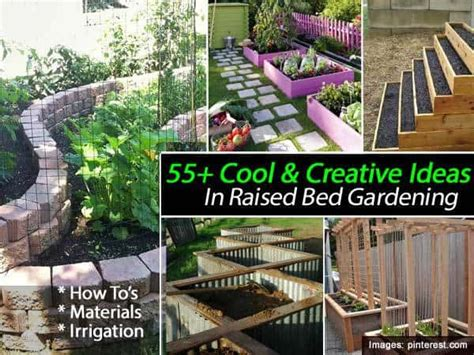 Raised Garden Bed With Trellis 55 Cool Amp Creative Ideas In Raised Bed Gardening