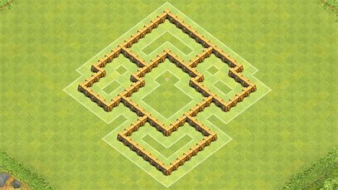 layout coc town hall 5 clash of clans town hall 5 defense coc th5 best trophy