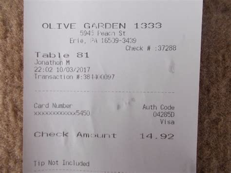 olive garden 7 principles olive garden erie menu prices restaurant reviews tripadvisor