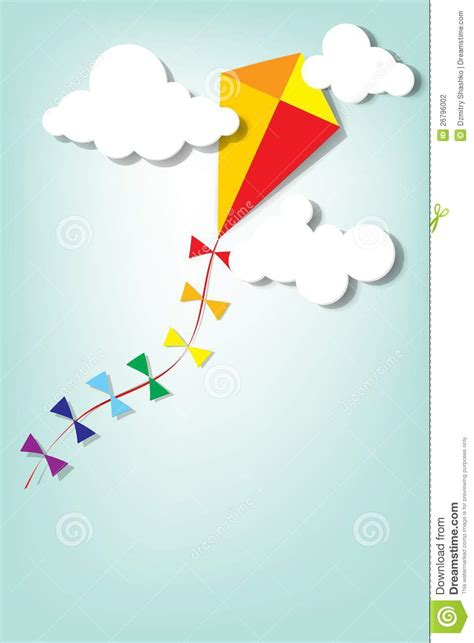 up in the clouds by kite up in the clouds stock photography image 26796002