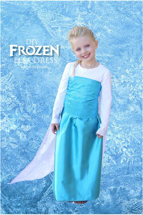 Dress Frozen diy frozen elsa dress tutorial the cape company