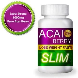 Nc Detox Pill by Acai Berry Detox Slimming Burner Supplement