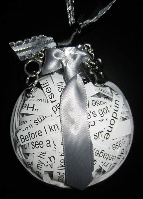 fifty shades of grey ornament for christmas by
