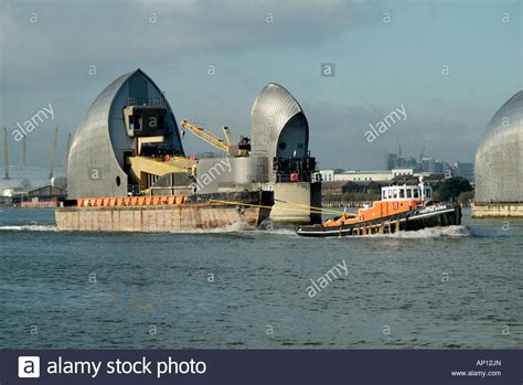 thames barrier environmental impact river thames barrier flood defence woolwich london england