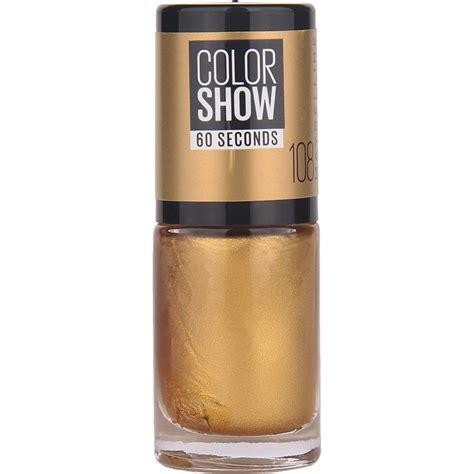 Lipstick Danimer Vire Color Show Golden k 246 p color show nail 7ml maybelline nagellack fraktfritt nordicfeel