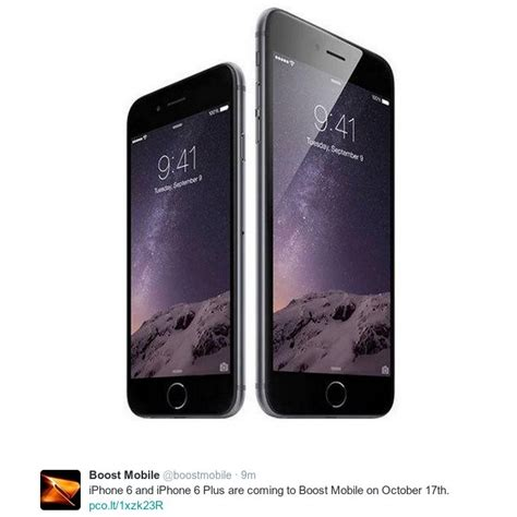 boost mobile getting the iphone 6 and 6 plus oct 17 prepaid phone news