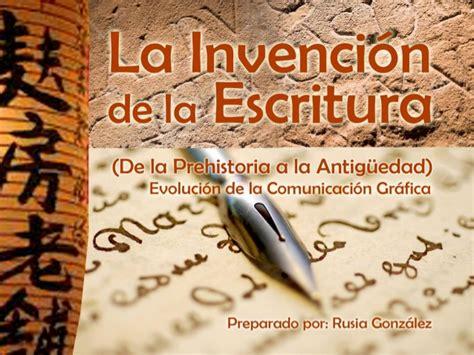 libro la invencin de la la invenci 243 n de la escritura