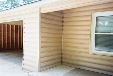 Faux Log Cabin Siding by Faux Log Cabin Siding A New Exterior Home Design Option
