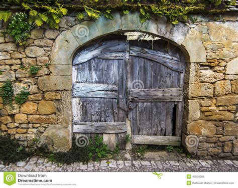 Free Architectural House Plans old rustic wooden gate stock photo image 40504265