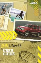 2010 Jeep Liberty Owners Manual 2010 Jeep Liberty Factory Owner S Manual