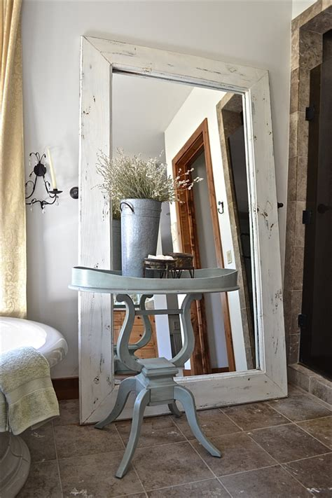 country style mirrors floor mirrors country design style