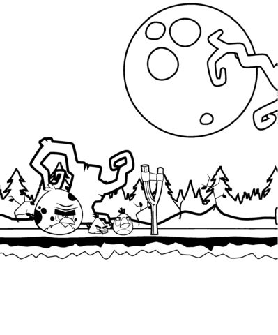 angry birds halloween coloring pages angry birds halloween theme coloring page free printable