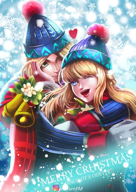 wallpaper mobile legend odette lancelot odette christmas mobile legends hensenfm by
