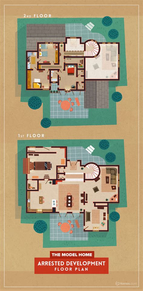 8 home floor plans from cult tv shows homes