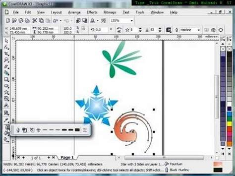tutorial vector corel draw youtube how to use interactive distortion tool tutorial corel draw
