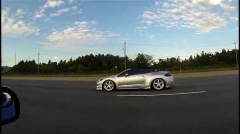 stanced mitsubishi eclipse stanced 2008 eclipse spyder summer 2014 satin silver