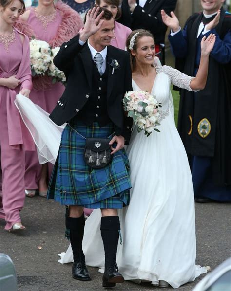 andy murray wedding andy murray s wedding to kim sears was quot fantastic quot say