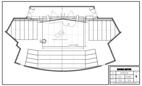 set design floor plan a set design for the divine sister designandtechtheatre