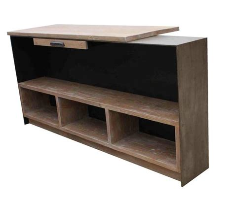 Metal Reception Desk Custom Metal Reception Desk For A Studio Mortise Tenon