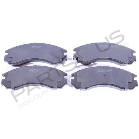 Disc Brake Cakram Mitsubishi Pajero Depan 1 mitsubishi pajero nh nj nk nl 91 00 front disc brake pads set transgold