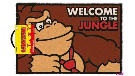 felpudo donkey kong felpudo donkey kong welcome to the jungle merchandising