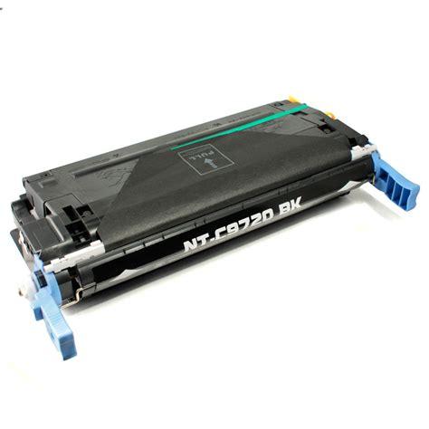 Toner Hp C9720a 641a Black remanufactured hp 641a c9720a black toner cartridge at