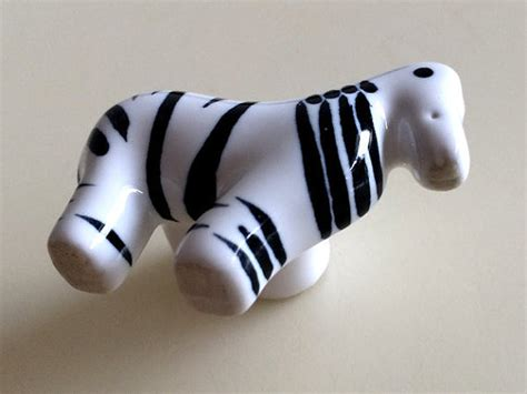 Zebra Drawer Knobs by Dresser Knob Drawer Knobs Pulls Ceramic Zebra Black