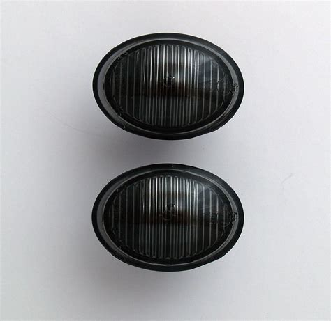 fiat 500 smoked lights abarth fiat 500 smoked black side light repeater
