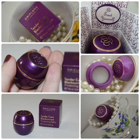 Teder Care Oriflame multipurpose protecting balm tender care oriflame blackcurrant products i