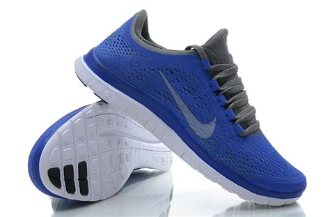 blue nike running shoes womens nike free 3 0 v5 s running shoes blue gray 73 00