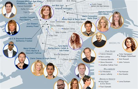 How To Find Out Where Live Find Out Where Your Favorite Live With Rentenna S Nyc Map