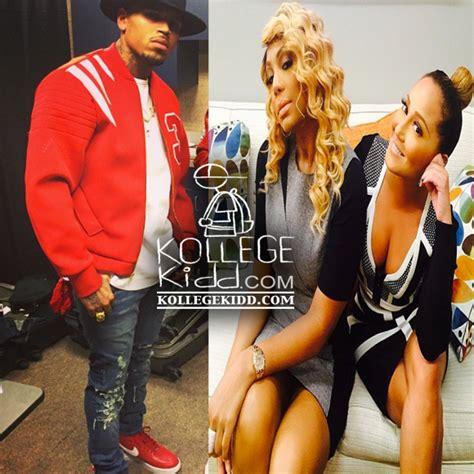 chris brown calls the real hosts trout chris brown calls the real hosts tamar braxton and