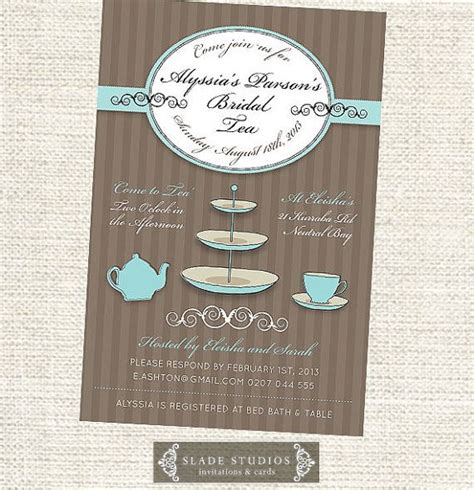 kitchen tea invites ideas 25 best ideas about kitchen tea invitations on