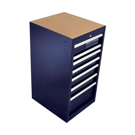 Craftsman Side Cabinet by Craftsman 7 Drawer 18 In Side Cabinet Midnight Blue