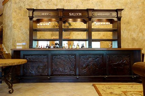 Design Rules For Building A Home Bar by Saloon Bar Ranch Racks Western Wear And Showcase Cabinets