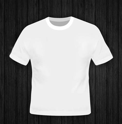white t shirt template 14 free t shirt template psd images white t shirt