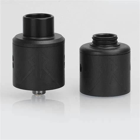 The Recoil Rebel Rda 25mm By Grimm Green Authentic 1 grimm green x ohmboyoc recoil rebel rda black 25mm atomizer