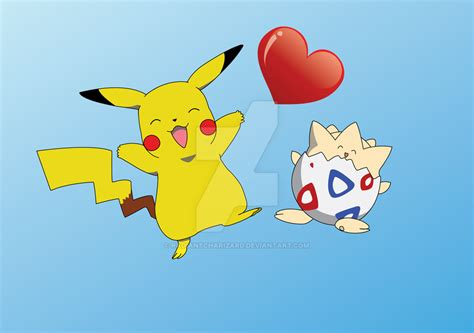 togepi pokemon wallpaper imgprix pikachu and togepi by radiantcharizard on deviantart