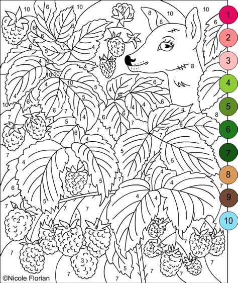 free color by number for adults free printable color by number pages for adults