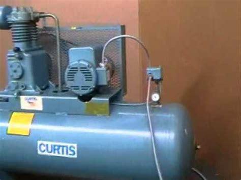 air compressor curtis cvm809a 5 hp air compressor made in the usa