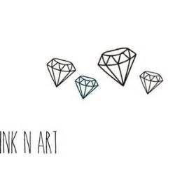 tattoo diamond outline 25 best ideas about diamond tattoos on pinterest small