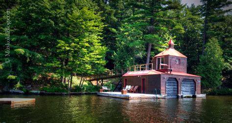 boat house unusual boathouse on lake rosseau muskoka blog