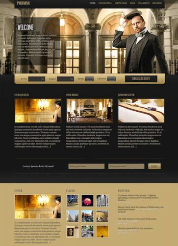 wordpress themes free luxury cost to create a hotel website with wordpress theme